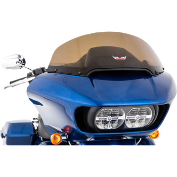 "Slip Streamer 10"" Replacement Windshield for 2015-2020 Harley Road Glide – Dark Smoke"