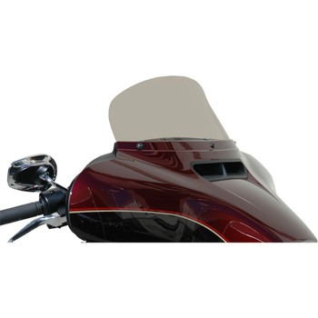 """Windvest 7"""" Replacement Windshield for 2014-2020 Harley Touring – Light Smoke"""