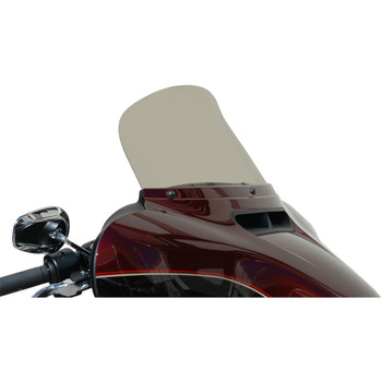 """Windvest 9"""" Replacement Windshield for 2014-2020 Harley Touring – Light Smoke"""