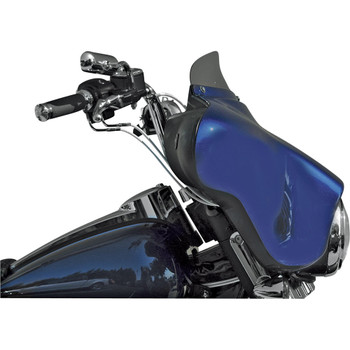 """Windvest 4"""" Replacement Windshield for 1996-2013 Harley Touring – Light Smoke"""