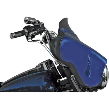 "Windvest 4"" Replacement Windshield for 1996-2013 Harley Touring – Dark Smoke"