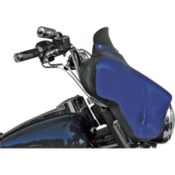 """Windvest 4"""" Replacement Windshield for 1996-2013 Harley Touring – Black"""