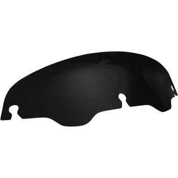 "Windvest 4"" Replacement Windshield for 1996-2013 Harley Touring – Black"