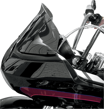 "Windvest 8"" Replacement Windshield for 1996-2013 Harley Road Glide – Dark Smoke"