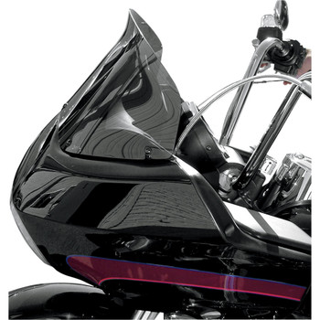"Windvest 10"" Replacement Windshield for 1996-2013 Harley Road Glide – Dark Smoke"
