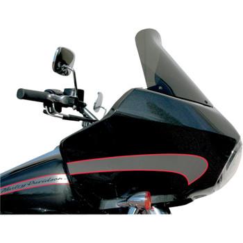 "Windvest 14"" Replacement Windshield for 1996-2013 Harley Road Glide – Dark Smoke"