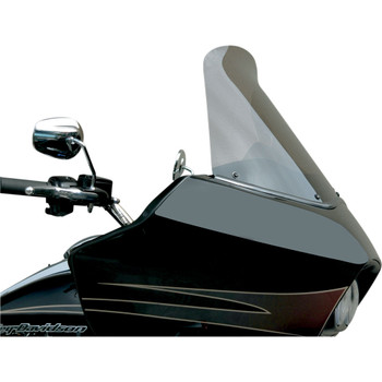 """Windvest 16"""" Replacement Windshield for 1996-2013 Harley Road Glide – Light Smoke"""
