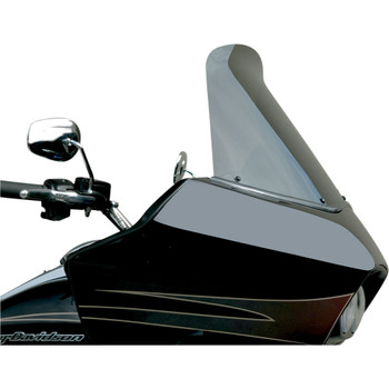 "Windvest 16"" Replacement Windshield for 1996-2013 Harley Road Glide – Dark Smoke"