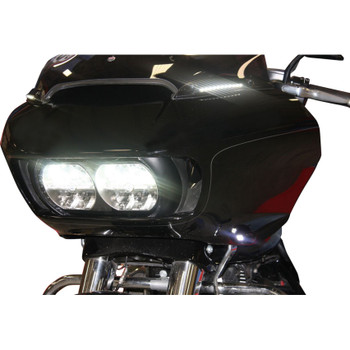 Custom Dynamics Windshield Trim with Turn Signals for 2015-2020 Harley Road Glide