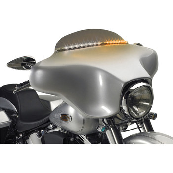 Cycle Visions Electra Light Trim for 1996-2013 Harley Touring - Black