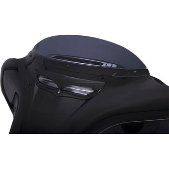 Ciro Windshield Trim for 2014-2020 Harley Touring – Gloss Black