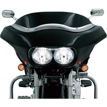 Kuryakyn Windshield Trim for 1996-2013 Harley Road Glide – Chrome