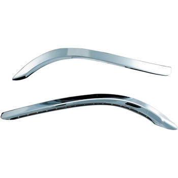 Kuryakyn Chrome Lighted Bat Lashes for 2014-2020 Harley Touring