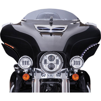 Ciro LED Bat Blades Fairing Trim for 1996-2005 Harley Touring