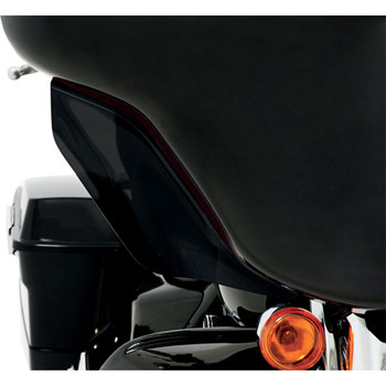 Memphis Shades Side Wind Deflectors for 1996-2013 Harley Touring - Black