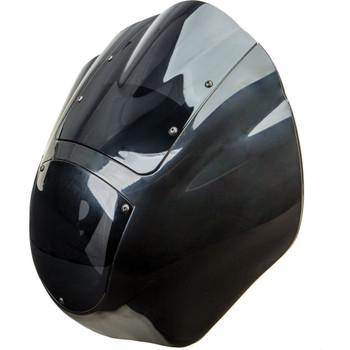 """HardDrive Clamshell 1/4"""" Fairing for Harley Dyna, FXR, Sportster"""