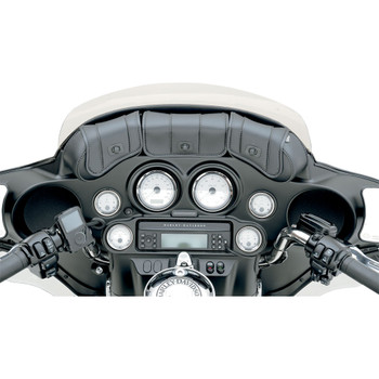 Saddlemen Cruise' N Deuxe 3-Pocket Windshield Pouch for 1996-2013 Harley Touring
