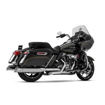 Magnaflow Hitman Slip-On Mufflers for 2017-2020 Harley Touring - Chrome
