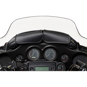 Willie & Max Dual Pouch Windshield Bag for 1996-2013 Harley Touring 04725