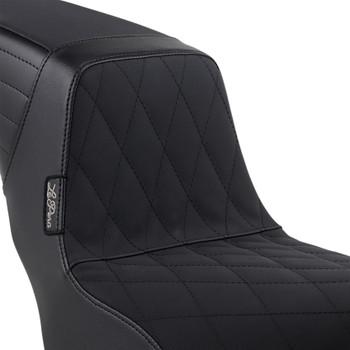 LePera Kickflip Seat for 2018-2020 Harley FXLR/FXLRS/FLSB - Diamond Gripp Tape