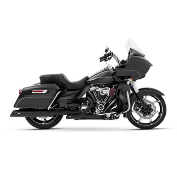 Magnaflow Hitman Slip-On Mufflers for 2017-2020 Harley Touring - Black