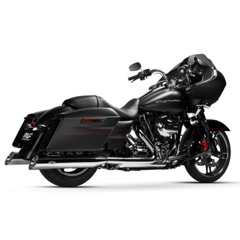 Magnaflow Hitman Slip-On Mufflers for 1995-2016 Harley Touring - Chrome