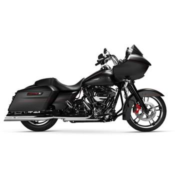 Magnaflow Hitman Slip-On Mufflers for 1995-2016 Harley Touring - Chrome