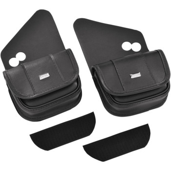 Hopnel Classic Dual Windshield Pouch for 1996-2020 Harley Touring
