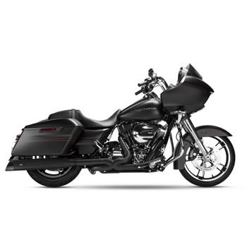 Magnaflow Hitman Slip-On Mufflers for 1995-2016 Harley Touring - Black