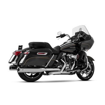 Magnaflow Impact Slip-On Mufflers for 2017-2020 Harley Touring - Chrome