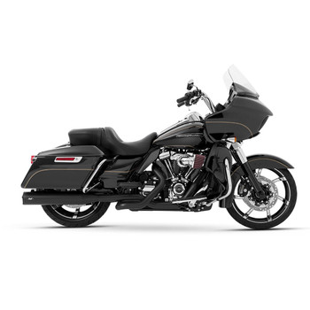 Magnaflow Impact Slip-On Mufflers for 2017-2020 Harley Touring - Black