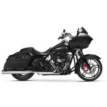 Magnaflow Impact Slip-On Mufflers for 1995-2016 Harley Touring - Chrome/Black Tip