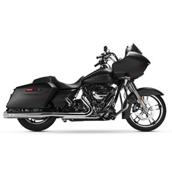 Magnaflow Knockout Slip-On Mufflers for 1995-2016 Harley Touring - Chrome