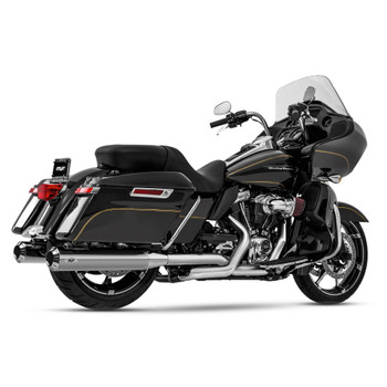 Magnaflow Riot Slip-On Mufflers for 2017-2020 Harley Touring - Chrome