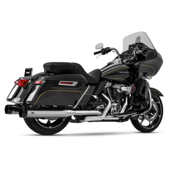 Magnaflow Top Gun Slip-On Mufflers for 2017-2020 Harley Touring - Chrome/Black Tips