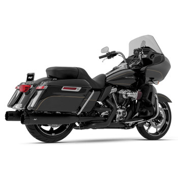 Magnaflow Top Gun Slip-On Mufflers for 2017-2020 Harley Touring - Black