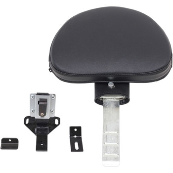 Saddlemen Matching Driver Backrest Assembly for Road Sofa Seat for 1997-2007 Harley Touring - Pillow Top