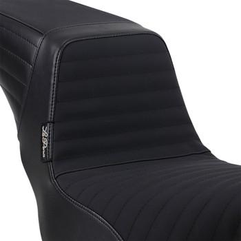 LePera Kickflip Seat for 2018-2020 Harley FXLR/FXLRS/FLSB - Pleated w/ Gripp Tape