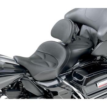 Saddlemen Explorer G-Tech Seat w/ Driver Backrest for 1997-2007 FLT/FLHT/FLTR