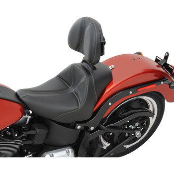 Saddlemen Dominator Driver Backrest for 2008-2020 Harley Touring