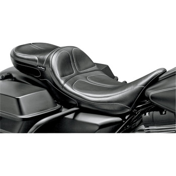 LePera Maverick Daddy Long Legs Seat for 2008-2020 Harley Touring - Stitch