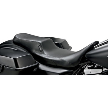 LePera Nomad II Seat for 2008-2020 Harley Touring - Smooth