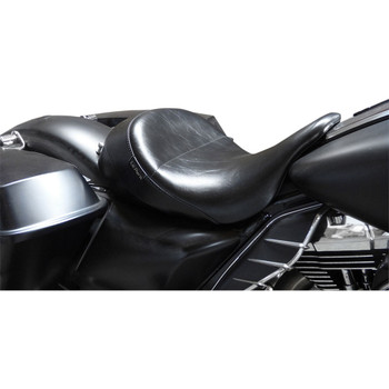LePera Aviator Up-Front Solo Seat for 2008-2020 Harley Touring - Smooth