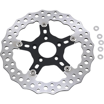 """Arlen Ness 11.8"""" Jagged Floating Rotor for 2008-2017 Harley*"""