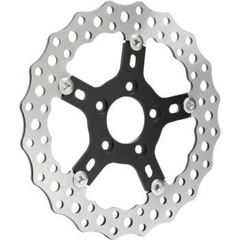 """Arlen Ness 11.5"""" Jagged Floating Rotor for 2000-2017 Harley*"""
