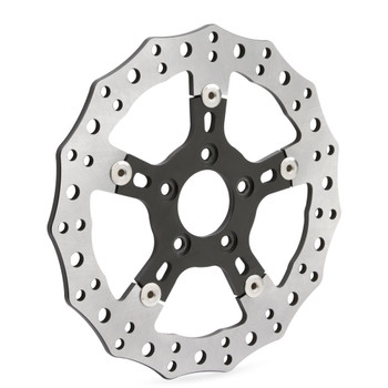 "Arlen Ness 11.8"" Rear Jagged Floating Rotor for 2008-2020 Harley Touring"
