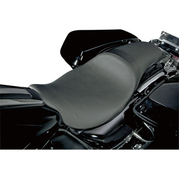 Danny Gray Short Hop 2-Up XL Seat for 2008-2020 Harley Touring - Smooth
