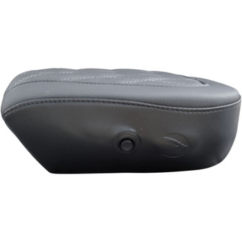 Danny Gray Airhawk Backrest Bigseat Pillion Pad for 2008-2020 Harley Touring - Diamond Stitc