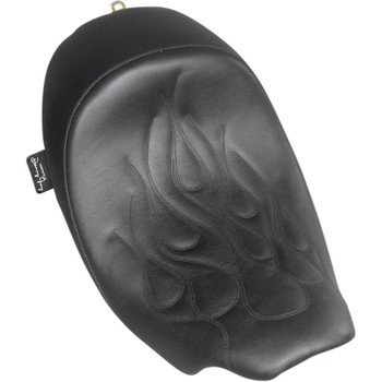 Danny Gray Speedcradle Solo Seat for 2008-2020 Harley Touring - Flame Stitch