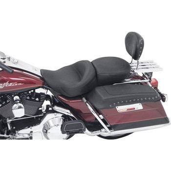 Mustang One-Piece Touring Seat for 1997-2007 Harley FLHR FLHX - Smooth